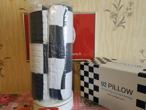 unboxing de l'oreiller ergonomique U2™ Stop Tossing & Turning Pillow @ Tests et Bons Plans