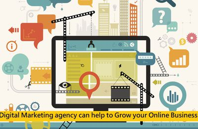 Digital Marketing agency can help to Grow your Online Business