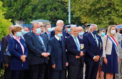 Saumur (49) Journée nationale d'hommage aux harkis 25-09-2021