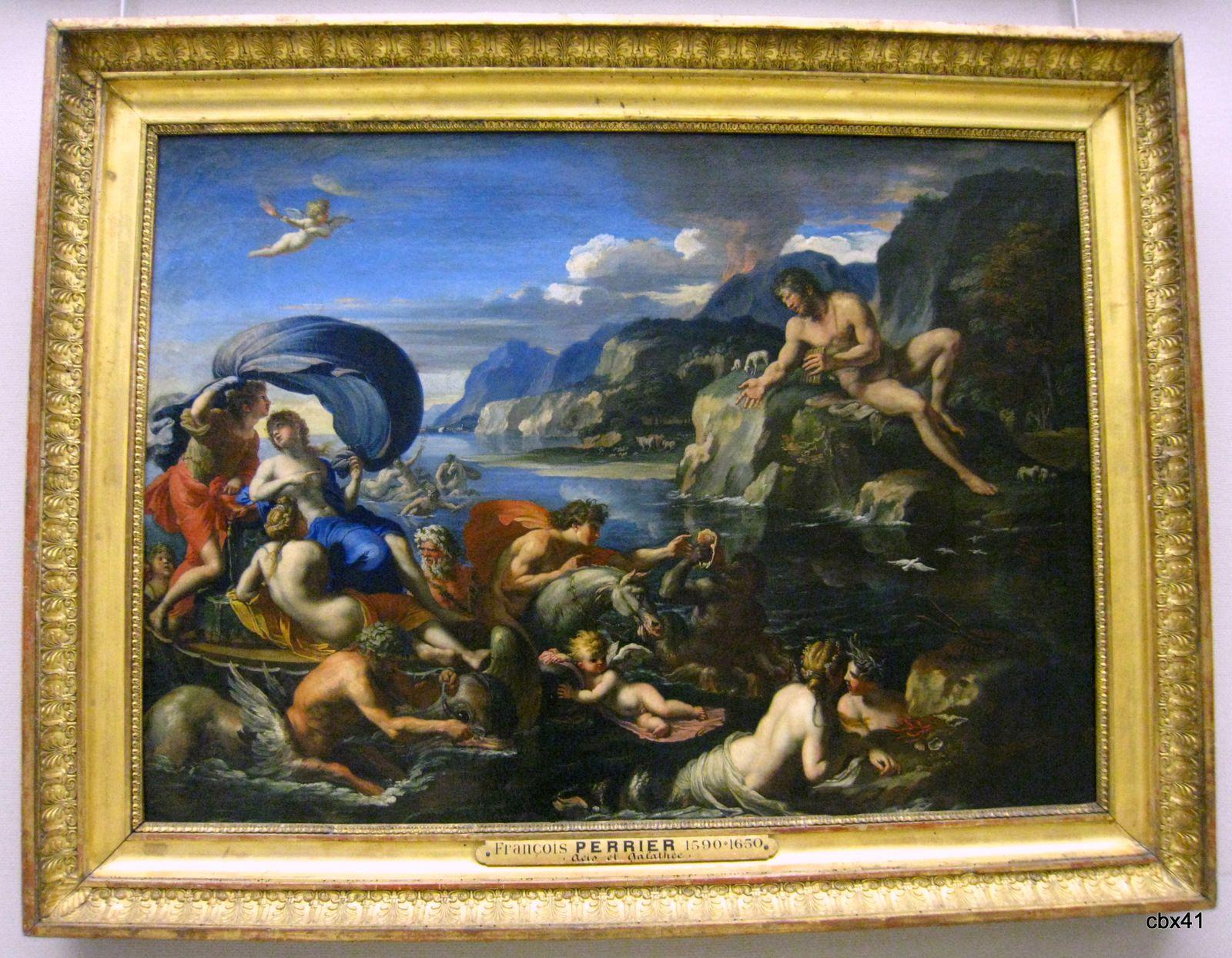 François Perrier, Acis et Galatée se dérobant au regard de Polyphème