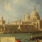 Canaletto - L'Eglise de la Salute depuis l'entrée du Grand Canal - LANKAART