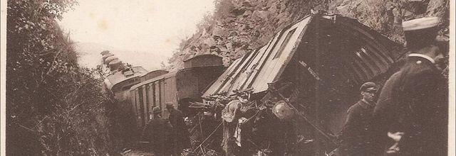 Catastrophe:  Déraillement à Brugeilles en 1934