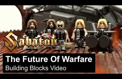 "VIDEO - Nouveau clip de SABATON en Lego ""The Future Of Warfare"""