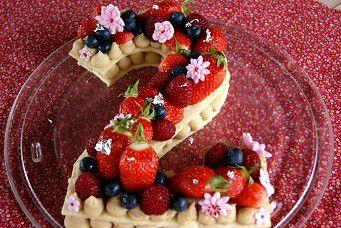 Number cake (tarte chiffres)