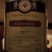 Glenturret 34Y MoS 1977. - Passion du Whisky