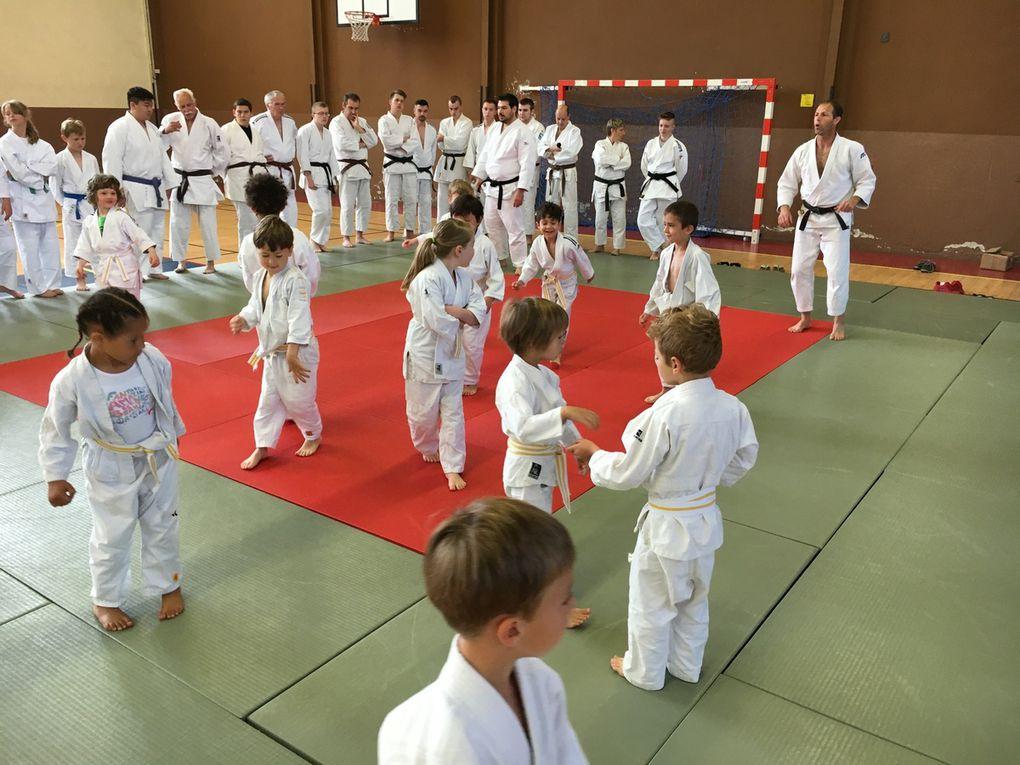 Judo. Les animations de fin d'année.