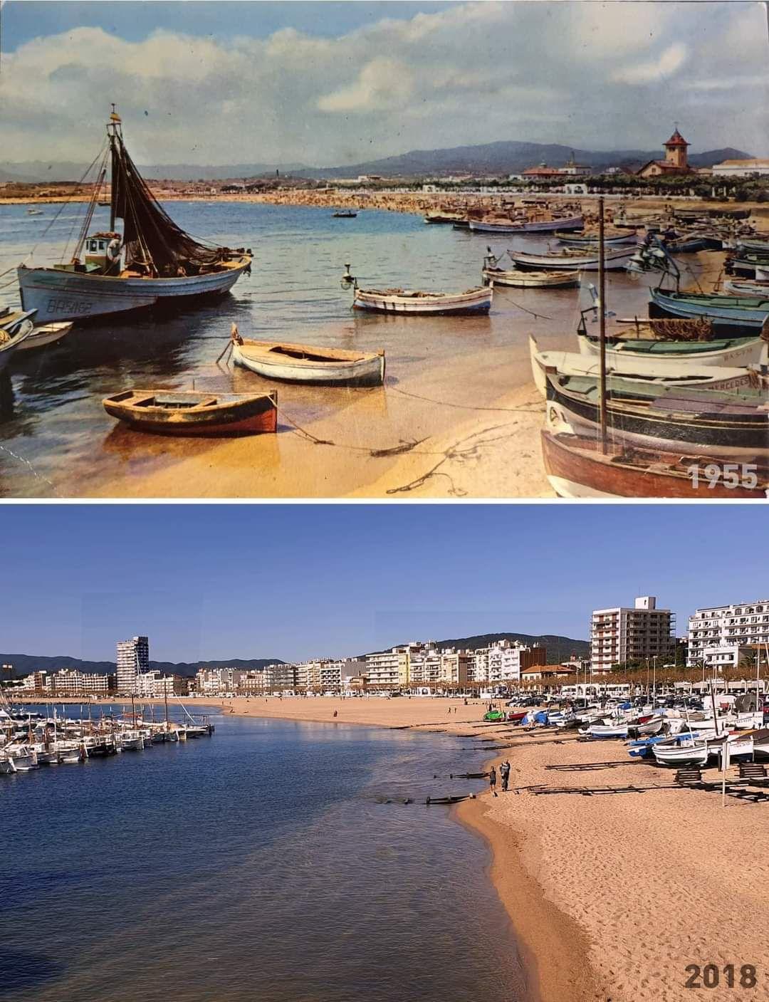 Le béton et la Costa Brava.......