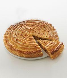 Mes idées gourmandes : Galette des rois pomme, poire, caramel beurre salé