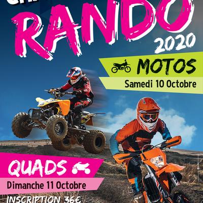 Week end Moto-Quad du MC Chauchéen (85), le 10 et 11 octobre 2020
