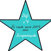 En route vers 2019 avec Scrapminouche, défi N°4 - Le creablablablog