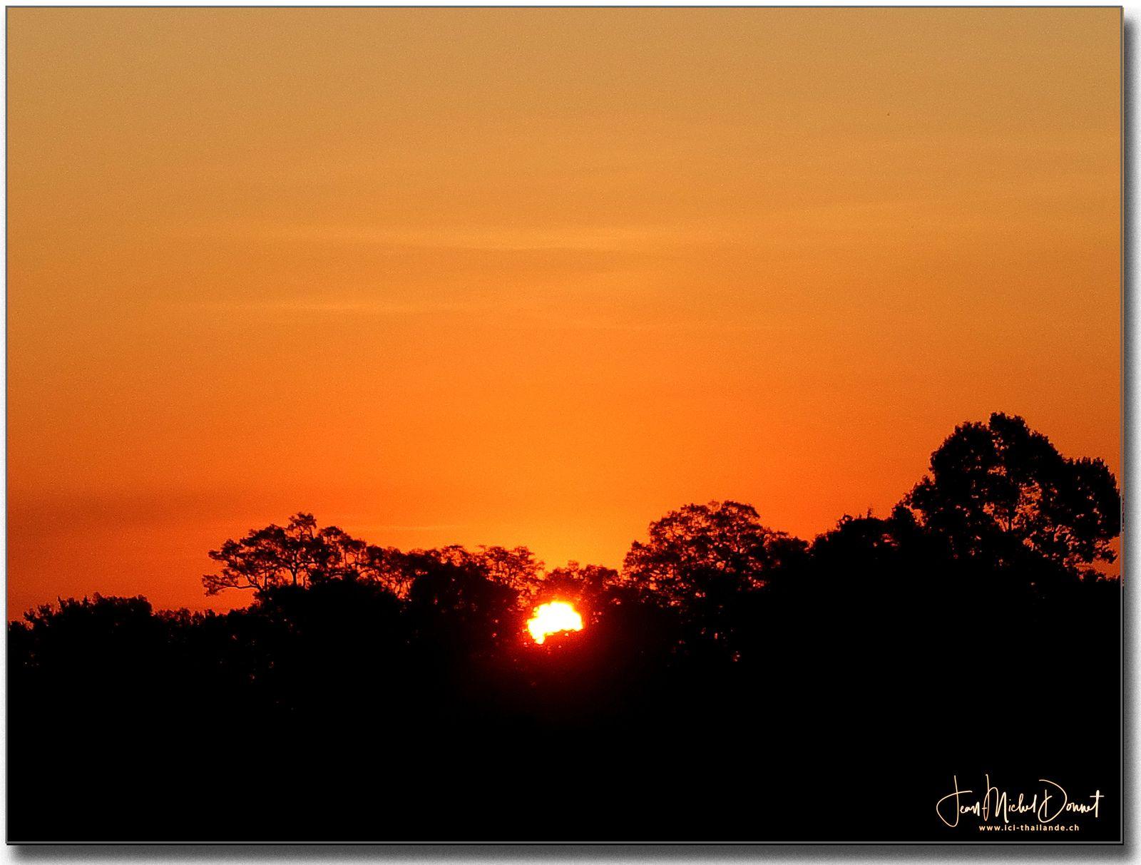 Lever du soleil ☀️ (Thaïlande)