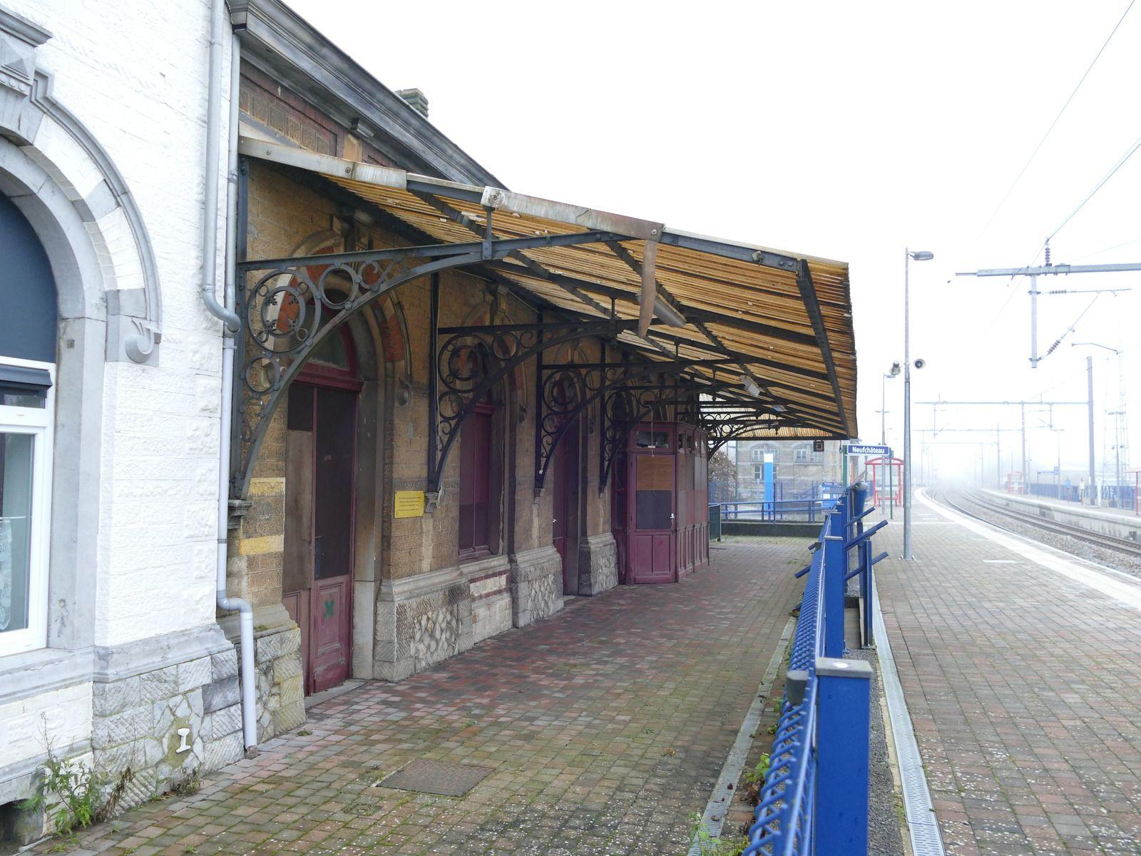 La gare de Longlier