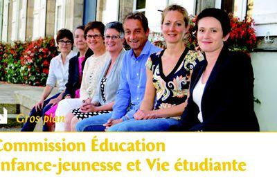 Dans le pontivyen zoom sur la rentrée des classes et la commission Education Enfance Jeunesse, Vie Etudiante et Restauration Collective