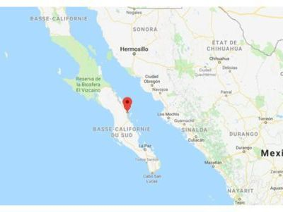Mexique: un séisme de 6,3 touche la Basse-Californie