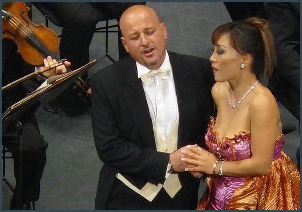 Antonino Siragusa et Sumi Jo