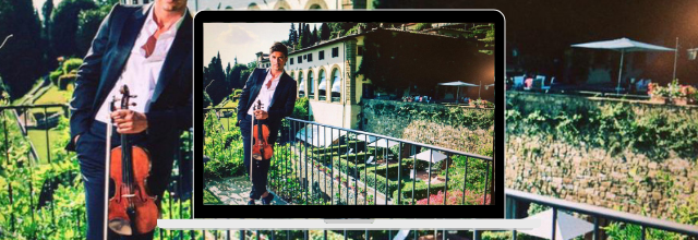 "Violinist Charlie Siem to perform exclusive Instagram concert at Belmond villa San Michele in Florence as part of ""Belmond invitations"""
