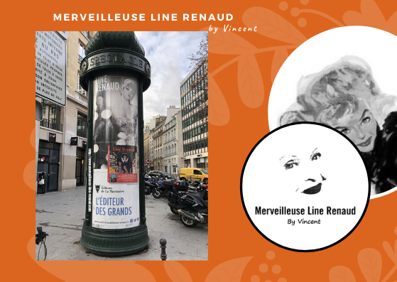 PUBLICITÉ: Line Renaud est sur les Colonnes Morris