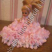 tuto gratuit poupée: petite poupée en princesse - Chez Laramicelle