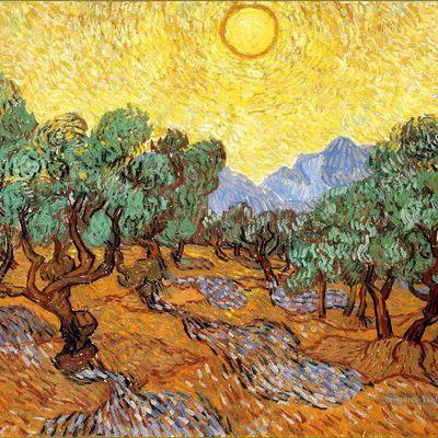 Mythologie des arbres - L'Olivier.