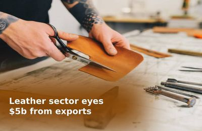 Leather sector eyes $5b from exports