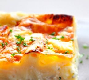 Lasagnes blanches aux 3 fromages