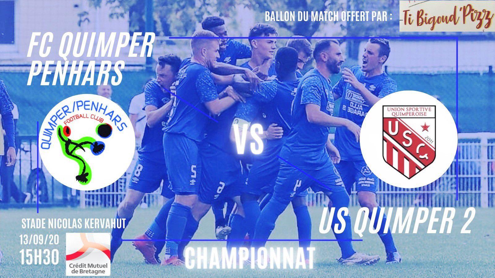 Derby foot dimanche 13 septembre stade Nicolas Kervahut (communiqué)