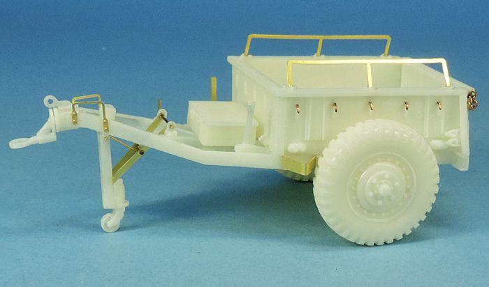 Remorque à munitions US M10 (kit résine Gaso.Line - réf : GAS50262)