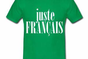 T shirt France Juste Français N HVR