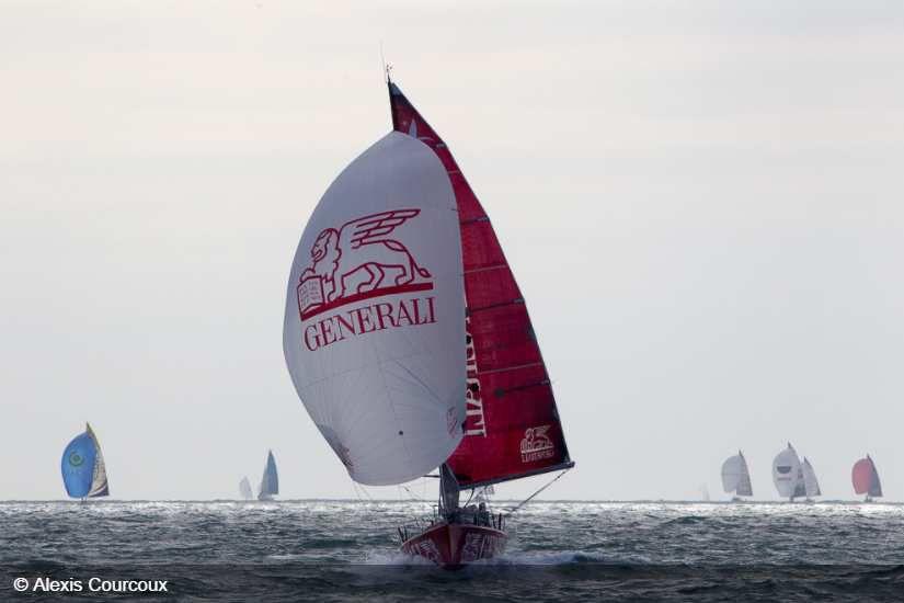 Nicolas Lunven sacré vainqueur de la 48ème Solitaire Urgo le Figaro !