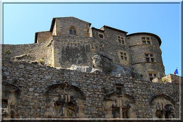 Diaporama château de Tournon sur Rhône
