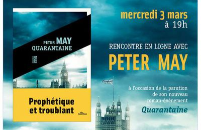 Rencontre en direct avec Peter May