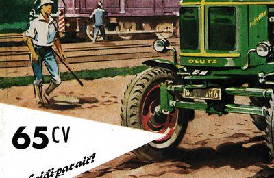 PUBLICITE : DEUTZ 65CV