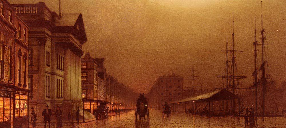 John Atkinson Grimshaw (6 septembre 1836 – 13 octobre 1893) est un peintre de l'époque victorienne, remarquable et imaginatif, surtout connu pour ses paysages bucoliques et urbains.
