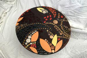 Table basse mosaïque moderne