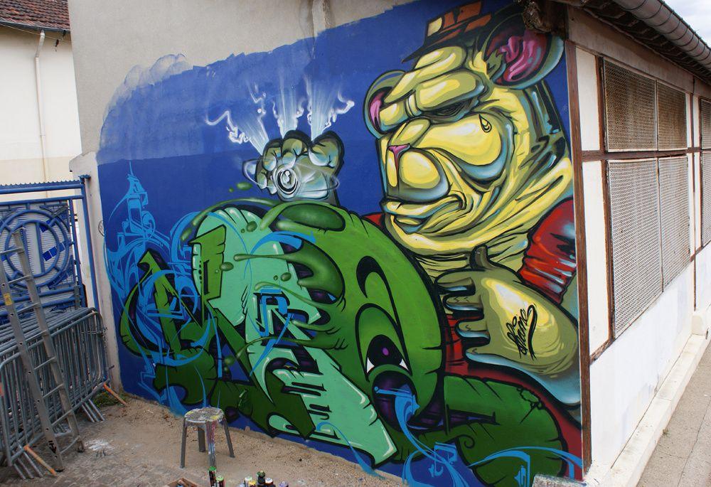 Album - Graffitis Saint Ouen Tom 002