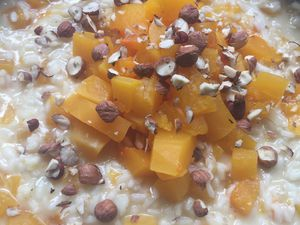 Risotto d'Halloween, ou risotto d'automne