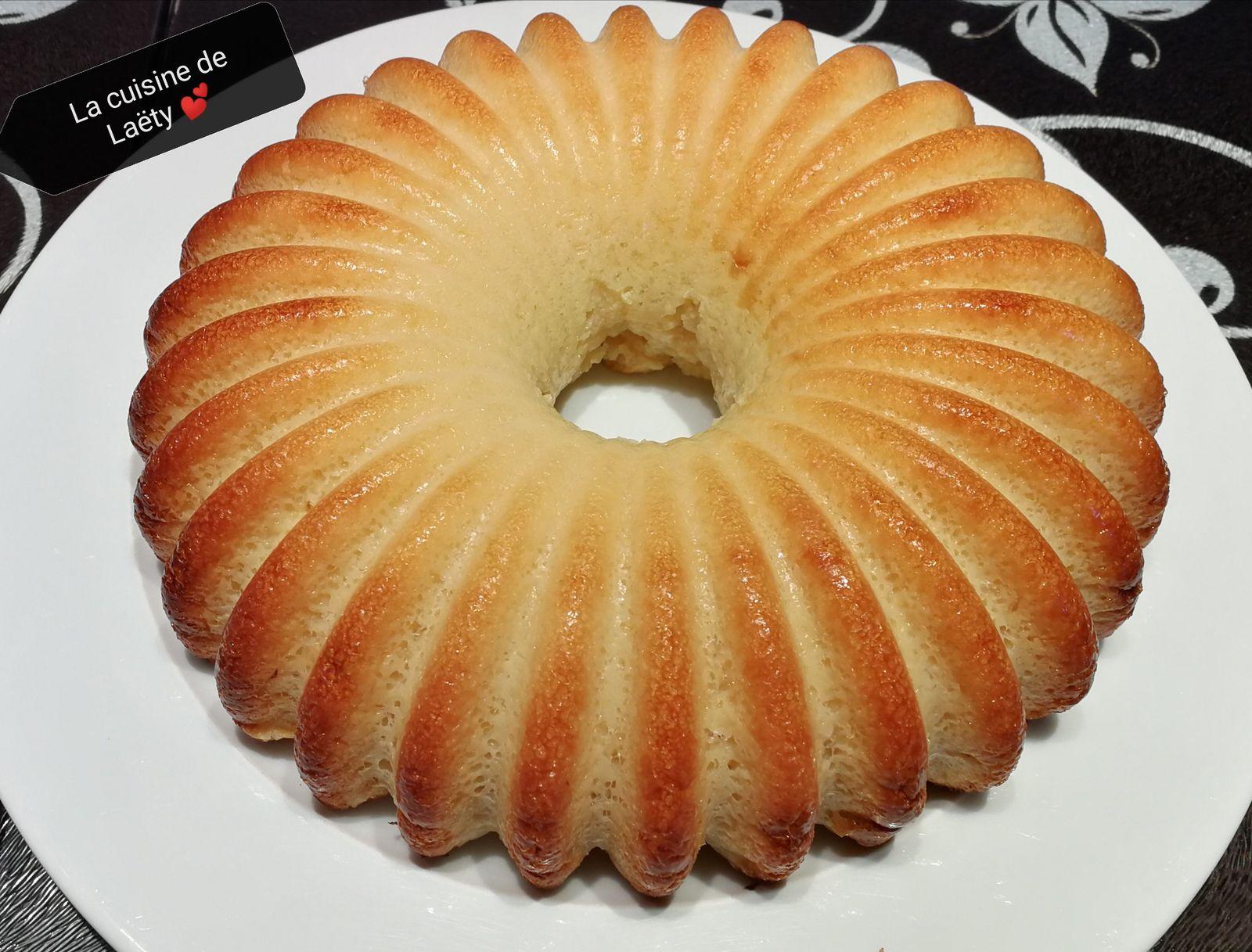 Gâteau Pommes 🍏 Semoule