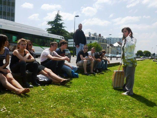 Album photos sur la sortie des 2 BAC PRO à Nantes