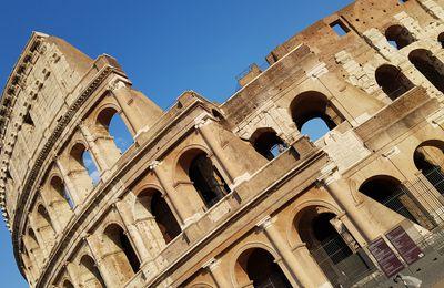 Rome Septembre 2020 - p1 : Fiumicino, Colisée et balade