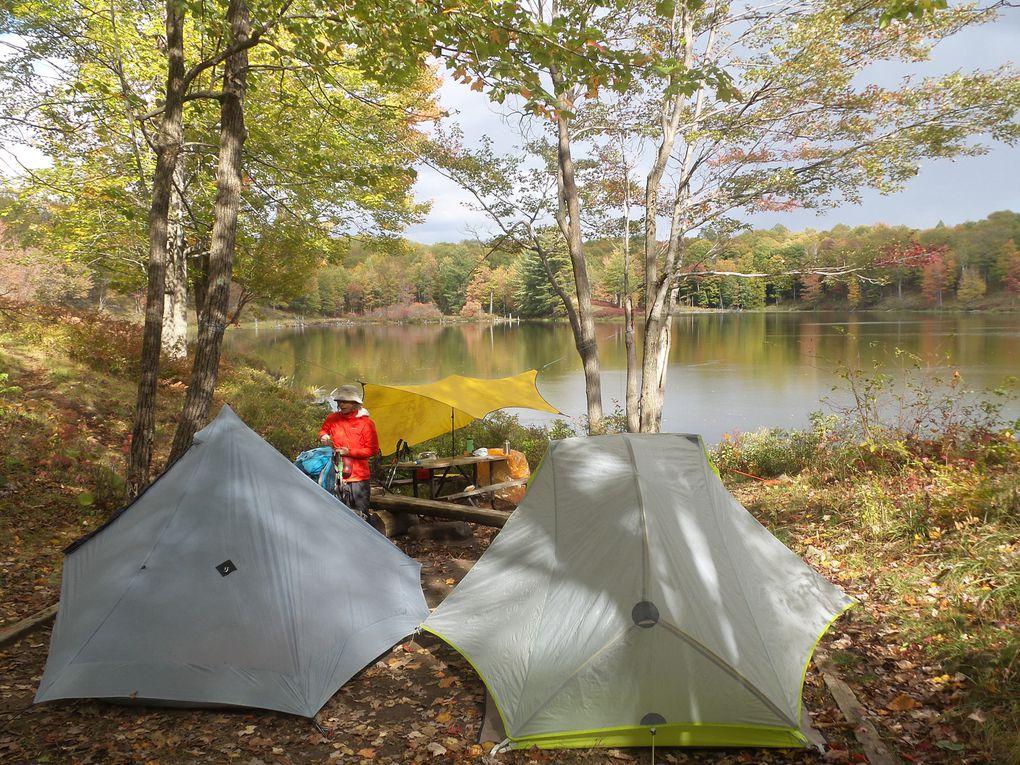 La vie au camping (Lynch Lake) sans nos amis mais avec les moustiques