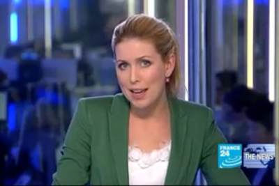 2012 01 16 @06H00 - KAREN CREED, FRANCE 24, THE NEWS