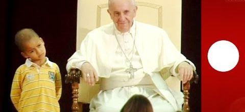 Le Pape et le petit garçon