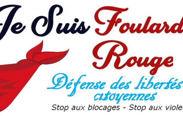 10.500 foulards rouges à Paris