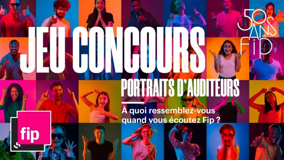 Pour ses 50 ans, Fip organise le Prix Fip :Portraits d'auditeurs