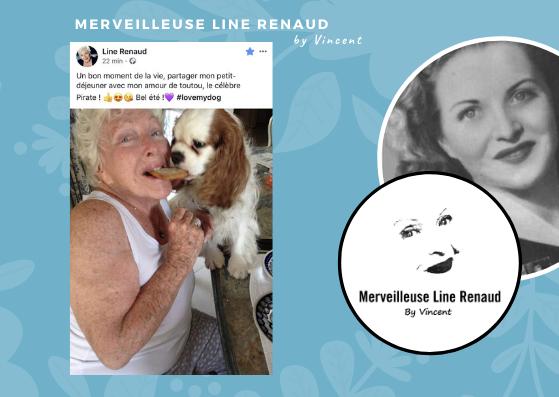 FACEBOOK LINE: Message de Line