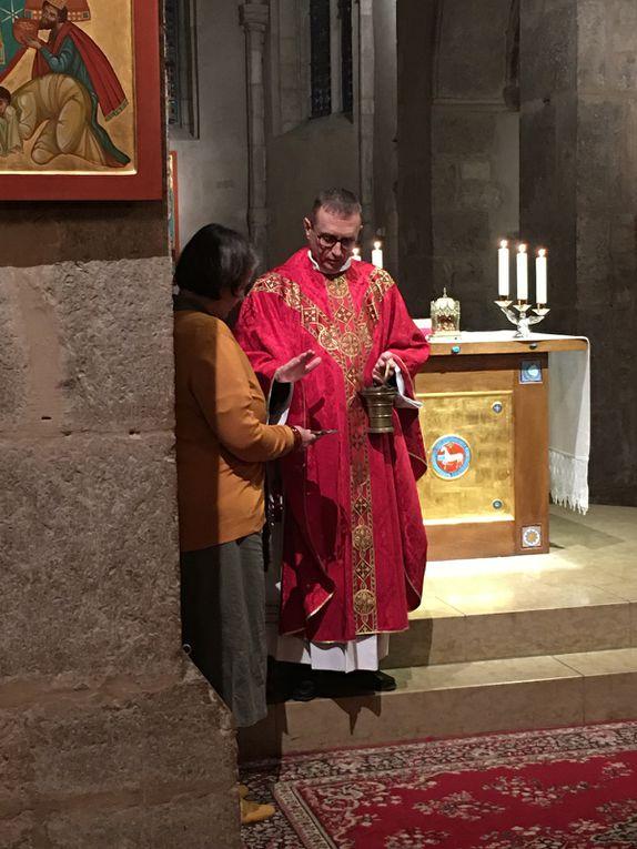 Enrôlement au Garde d'honneur du Sacré Coeur de Jésus de Johny TAYAR.