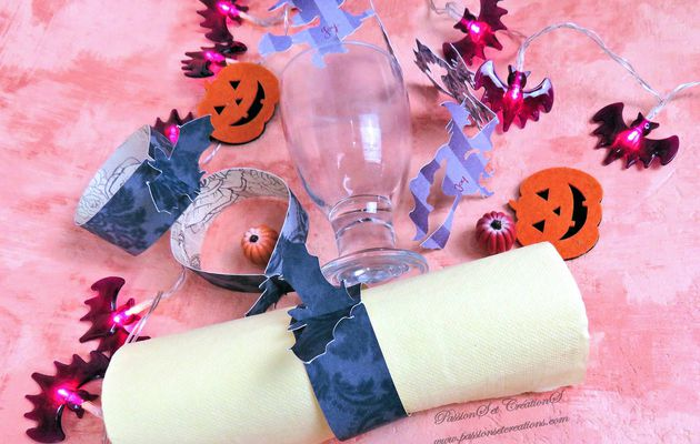 {Scan N Cut} Une décoration de table pour Halloween