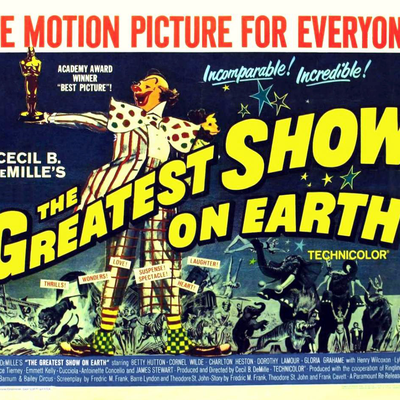 Sous le plus grand Chapiteau du monde (THe greatest Shiow on earth - Cecil B. DeMille, 1952)
