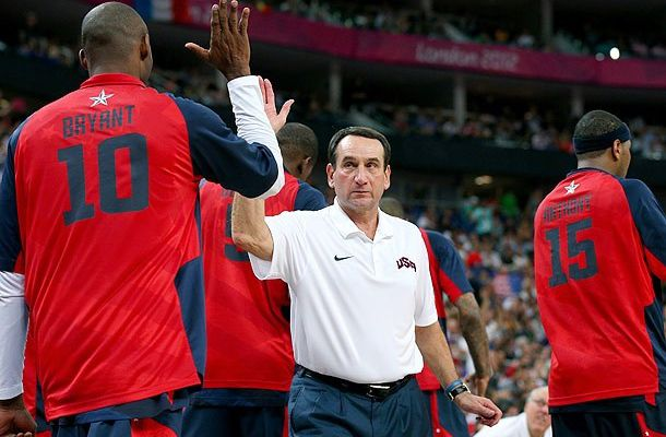 Team USA: Le coach Mike Krzyzewski quitte le navire
