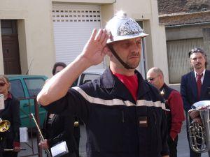 Journée du souvenir et de la déportation à Algrange, en 2011